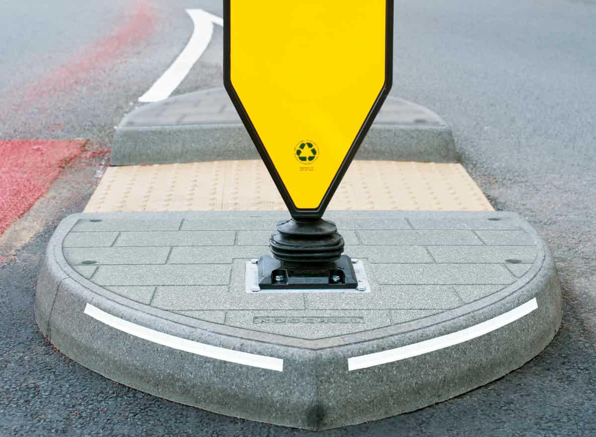 Trafikhelle til fodgængere
